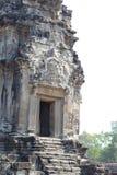 De bouw van Angkor Wat in de ochtend, Kambodja Stock Afbeeldingen