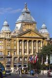 De bouw van Anker - Boedapest - Hongarije Royalty-vrije Stock Fotografie