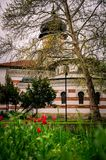 De bouw van Art Gallery in stad van Pleven, Bulgarije royalty-vrije stock afbeeldingen