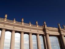 De bouw van Barcelona Stock Afbeeldingen