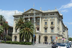 De bouw van Barcelona Stock Afbeelding