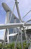 de bouw van boot in singapour Royalty-vrije Stock Afbeelding