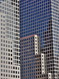 De bouw van bureaus Stock Foto's