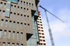 De bouw van bureaus in Hospitalet, Barcelona royalty-vrije stock foto's