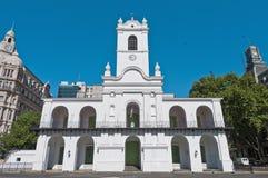 De bouw van Cabildo in Buenos aires, Argentinië Royalty-vrije Stock Foto