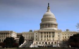 De bouw van Capitol Hill Stock Foto's