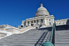 De Bouw van Capitol Hill Stock Afbeeldingen