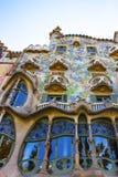 De bouw van Casabatllo in Barcelona in Spanje Royalty-vrije Stock Afbeeldingen