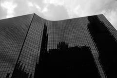 De bouw van Chicago Stock Afbeeldingen