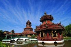 De bouw van China. Royalty-vrije Stock Afbeeldingen