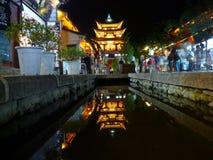 De bouw van China Dali Wuhua Stock Fotografie
