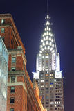 De Bouw van Chrysler in de Stad van New York Royalty-vrije Stock Afbeeldingen