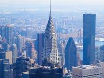 De bouw van Chrysler, New York royalty-vrije stock foto's