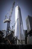 De bouw van commercieel centrum Royalty-vrije Stock Fotografie