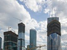 De bouw van complexe hoogte. Royalty-vrije Stock Foto's