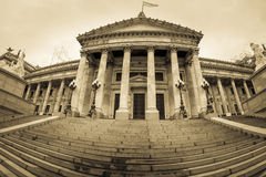De bouw van Congres in Buenos aires, Argentinië Royalty-vrije Stock Afbeelding