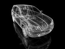 De bouw van de auto Royalty-vrije Stock Fotografie