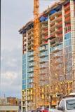 De bouw van de binnenstad Royalty-vrije Stock Fotografie