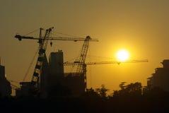 De bouw van de bouw Royalty-vrije Stock Afbeelding