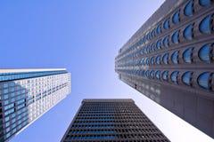 De Bouw van de Bureaus van Montreal Stock Afbeeldingen