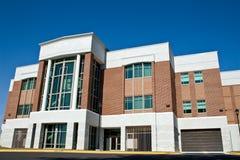 De Bouw van de campus - Universiteit stock afbeeldingen