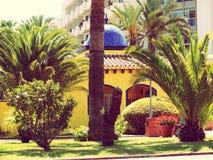 De bouw van de Canarische Eilandenspanje van Tenerife Royalty-vrije Stock Afbeelding