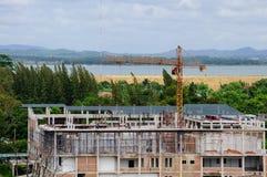 De bouw van de Crainbouw Stock Fotografie