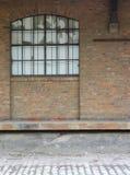 De bouw van de fabriek Stock Foto