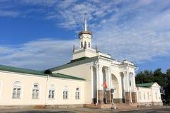 De bouw van de geschiedenis in Bishkek Stock Afbeeldingen
