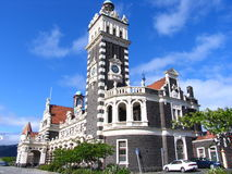 De Bouw van de geschiedenis in Dunedin Royalty-vrije Stock Foto
