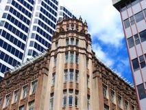 De Bouw van de Geschiedenis van Auckland Stock Afbeeldingen