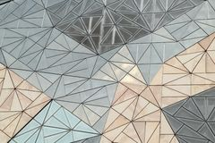 De bouw van de glasmuur Royalty-vrije Stock Afbeeldingen