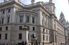 De Bouw van de hoek - Londen Stock Foto's