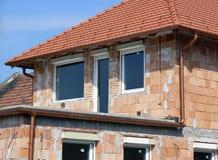 De bouw van de huisvesting Royalty-vrije Stock Foto's