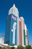 De bouw van de imperiumstaat in Nieuw York-Nieuw York op Las Vegas Stri Stock Afbeelding