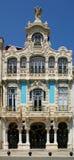 De bouw van de Jugendstil Royalty-vrije Stock Afbeelding