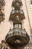 De bouw van de Jugendstil royalty-vrije stock afbeeldingen