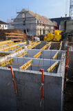 De bouw van de kelder Royalty-vrije Stock Foto's