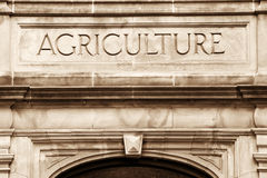 De Bouw van de landbouw stock afbeelding