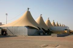 De bouw van de luchthaven Royalty-vrije Stock Foto
