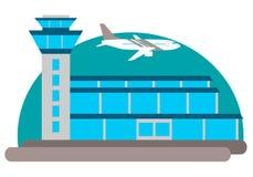De bouw van de luchthaven Royalty-vrije Stock Foto's