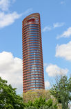 De bouw van de Metropolparasol Stock Fotografie