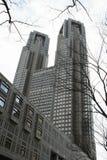 De bouw van de Overheid van Tokyo royalty-vrije stock afbeeldingen