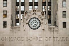 De Bouw van de Raad van Chicago van Handel royalty-vrije stock afbeeldingen