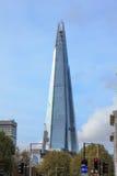 De bouw van de scherf in Londen Royalty-vrije Stock Afbeelding