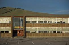 De Bouw van de school Stock Foto