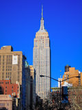 De bouw van de Staat van het imperium, de Stad van Manhattan, New York Royalty-vrije Stock Fotografie