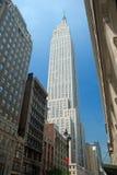 De Bouw van de Staat van het imperium in de Stad van New York Stock Foto