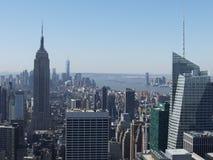 De Bouw van de Staat van het imperium en de Stad van New York Royalty-vrije Stock Foto