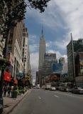 De Bouw van de Staat van het imperium, Manhattan, NYC Royalty-vrije Stock Fotografie